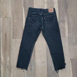 Levi's 501 T ( Taper) Straight Leg Jeans